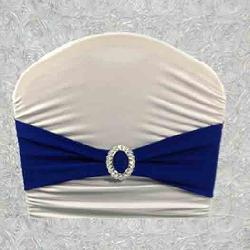 Royal Blue Chair Bands