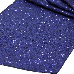 Blue Sequin Runner
