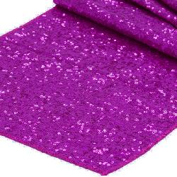 Fuchsia Sequin Runner