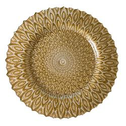 Opal Plates - Gold