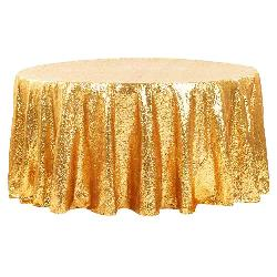 Gold Sequin 120R